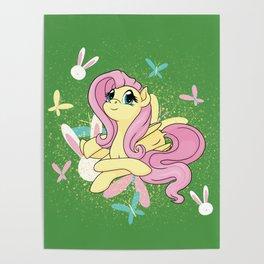 Flutter Splatter Poster