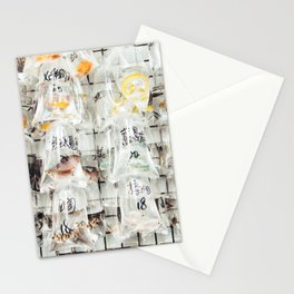 At The Goldfish Market Stationery Cards
