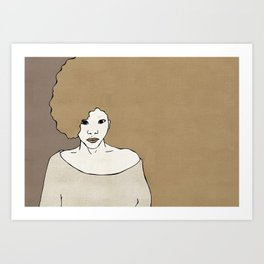 Female Four Art Print