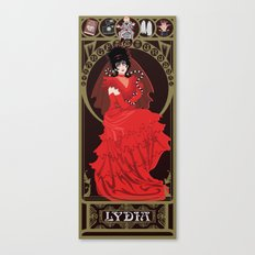 Lydia Nouveau - Beetlejuice Canvas Print