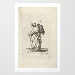 Landrunner - Pieter Kikkert (1798) Art Print