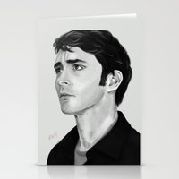 lee pace Stationery Cards featuring Lee by Katie Arts
