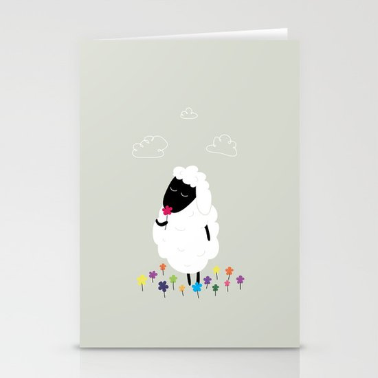 The Happy Flower Stationery Cards