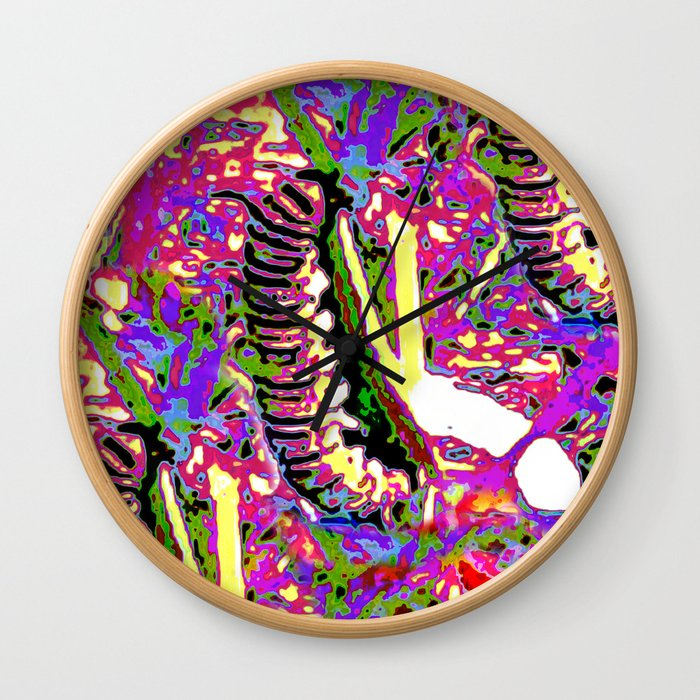 Matisse Caterpillar Wall Clock