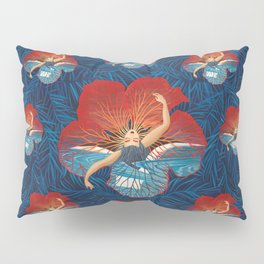 Hibiscus Flower Pillow Sham