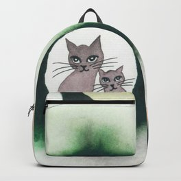 Lolo Whimsical Cats Backpack