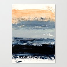 abstract minimalist landscape 5 Canvas Print