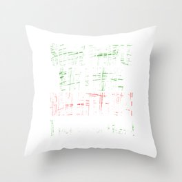 """A Cool Attitude Tee For You Saying """"Some People Say I Have Bad Attitude I Say I Screw Them"""" T-shirt Throw Pillow"""