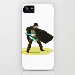 Robo-Western iPhone Case