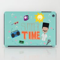 old school iPad Cases featuring OLD SCHOOL!  by Claudia Ramos Designs