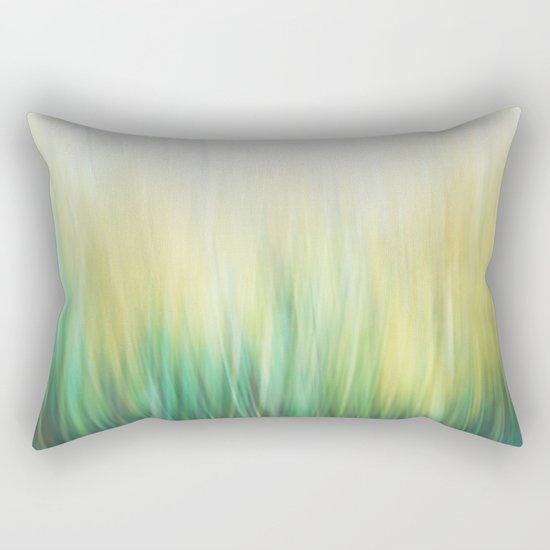 Grass abstract Rectangular Pillow