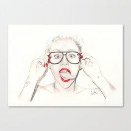 tongue... Canvas Print