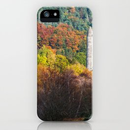 Autumn at Glendalough (RR 171) iPhone Case