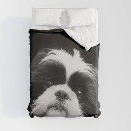 Shih Tzu Dog Duvet Cover