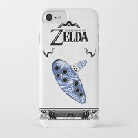 majora iPhone & iPod Cases featuring Zelda legend - Ocarina of time by Art & Be