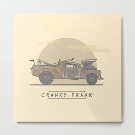 mad Max: Fury Road - Cranky Frank Metal Print