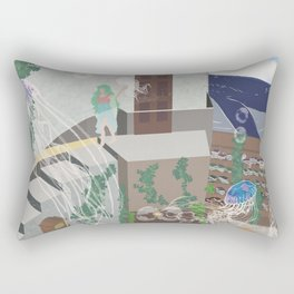 Too much is never enough Rectangular Pillow