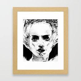 Elsa as the Bride Framed Art Print