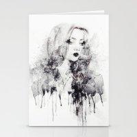 grunge Stationery Cards featuring Grunge by Sara Eshak