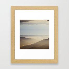 darjeeling for duvet Framed Art Print