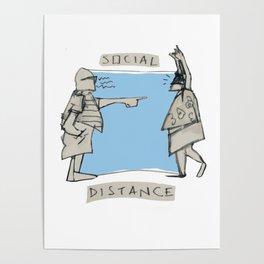 SOCIAL DISTANZ Poster
