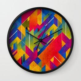 Geometric Play Wall Clock