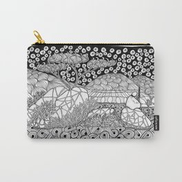 Zentangle Night Solitude Carry-All Pouch