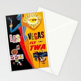 Vintage poster - Las Vegas Stationery Cards