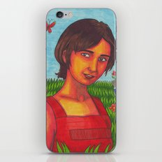 I Can't Imagine the World Without Me iPhone & iPod Skin