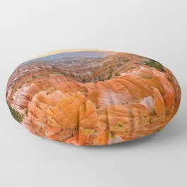 Bryce Canyon Sunrise Utah National Park Southwest USA Landscape Floor Pillow