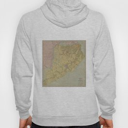 Vintage Map of Staten Island NY (1911) Hoody