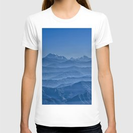 Blue Hima-layers T-shirt
