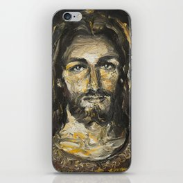I am the light of the world. (Faustina's Vision) iPhone Skin