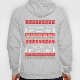 Funny Gun Shirt Ugly Christmas Gun Lover Gift Hoody