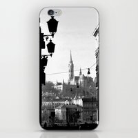 budapest iPhone & iPod Skins featuring Budapest by Lena Karafelova