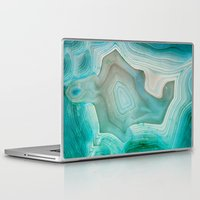 crystals Laptop & iPad Skins featuring THE BEAUTY OF MINERALS 2 by Catspaws