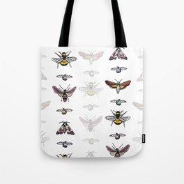 Bug Stripe Tote Bag