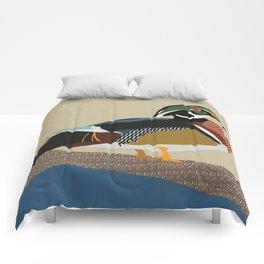 Wood Duck Comforters