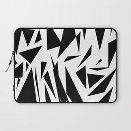 Black shapes Laptop Sleeve