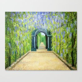 Schoenbrunn in Vienna The Palace Gardens Canvas Print