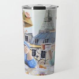 Tea Time in Paris Travel Mug