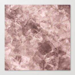 crystal pink.1 Canvas Print