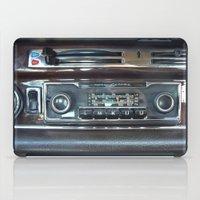 mercedes iPad Cases featuring Vintage Radio Becker Europa by Premium