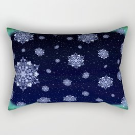 Crystal Aurora Rectangular Pillow