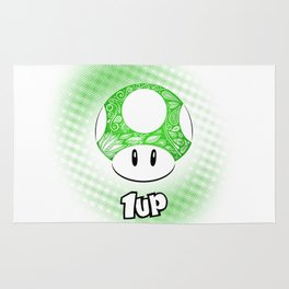 1-UP from Mario Rug