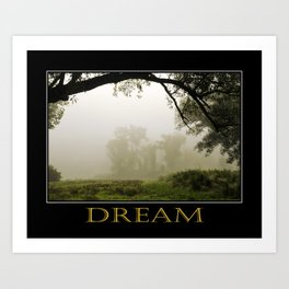 Inspiring Dreams Art Print
