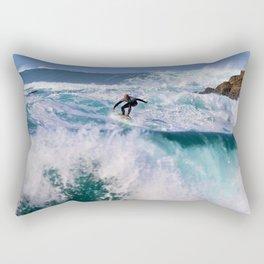 Wave Series Photograph No. 16. - Surf's Up! Rectangular Pillow