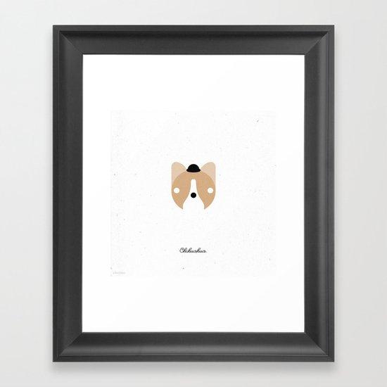 Pedigree: Chihuahua Framed Art Print