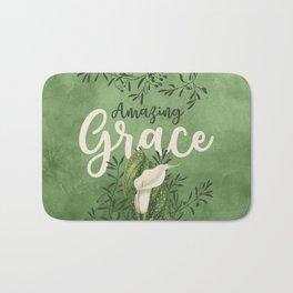 Amazing Grace (green) Bath Mat