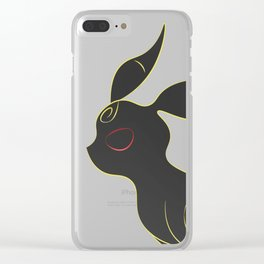 Umbreon Clear iPhone Case